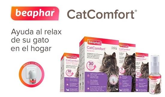 Beaphar CatComfort para el estrés y la ansiedad en los gatos