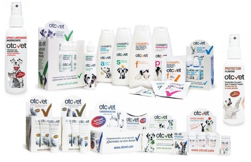 Otcvet , productos de higiene, dermatología y nutraceúticos para mascotas