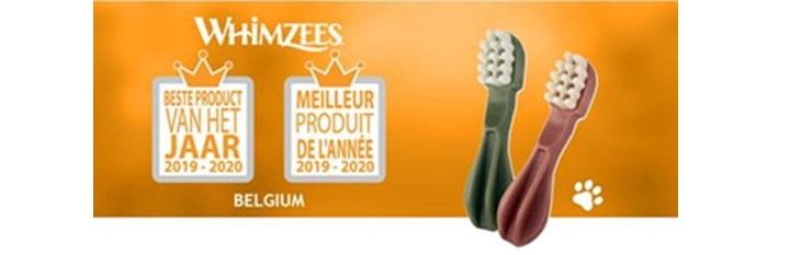 WHIMZEES Cepillo de dientes «Mejor producto del año Bélgica 2019-2020»