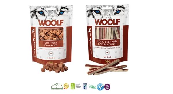 Woolf los snacks para perros y gatos