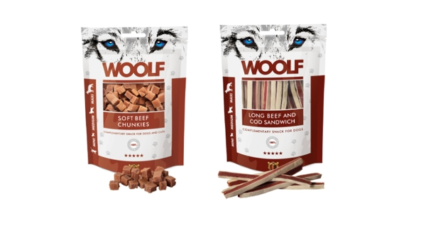 Nuevos snacks Woolf  con ternera