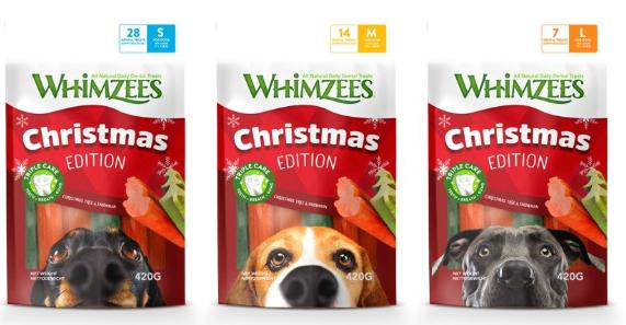 Whimzees edición Navidad