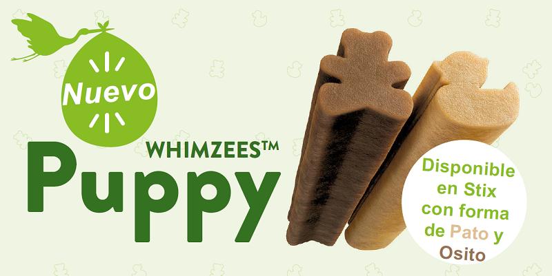 Nuevos Whimzees Puppy, snacks dentales a partir de los 3 meses de edad