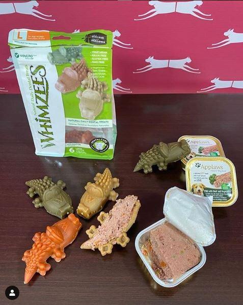 Como hacer un snack divertido para tu mascota con Whimzees y Applaws