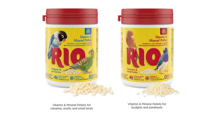 Nuevas Vitaminas y minerales en Pellet de Rio
